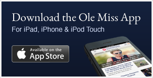 Download the Ole Miss App for iPad, iPhone and iPod Touch